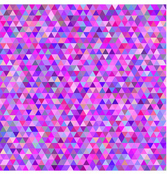 Pink colorful abstract triangle mosaic background vector
