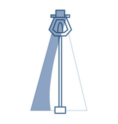 Street light isolated vector