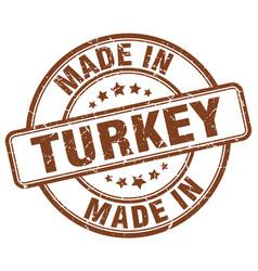 Made in turkey vector