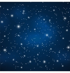 Star sky background vector