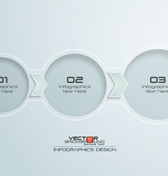 Step by Step Infographic Design vector image