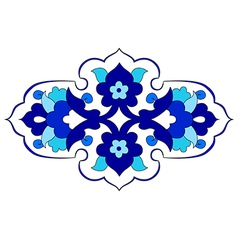 Artistic ottoman pattern series eighty vector