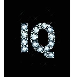 Diamond word iq vector