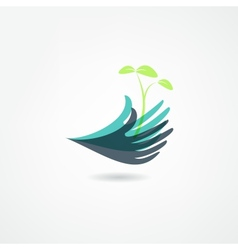 plants icon vector image