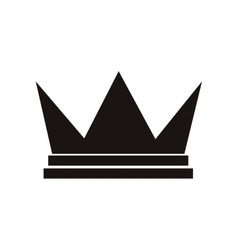 Royalty crown icon vector