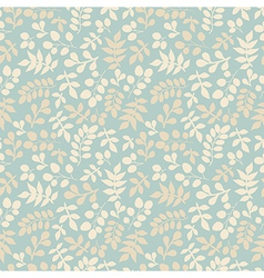 Seamless pattern on leaves theme autumn seamless vector