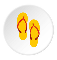 Slates icon circle vector
