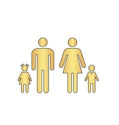 Family computer symbol vector