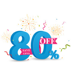 Discount sale banner design vector