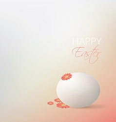 Easter egg design vector image vector image