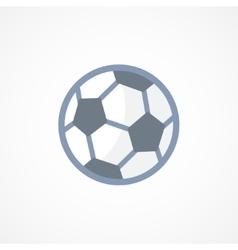 Football soccer ball icon sign vector image