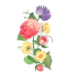 Flower arrangement vector