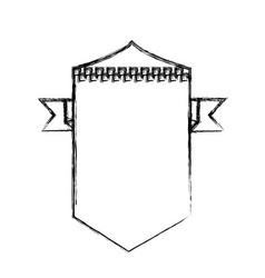 Race empty emblem vector