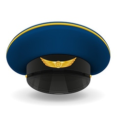 Professional uniform cap 03 vector