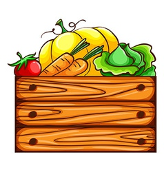 A simple sketch of a harvest from the farm vector image