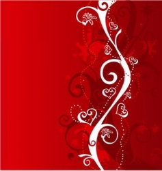 background red vector image vector image