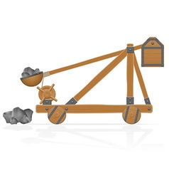catapult 02 vector image