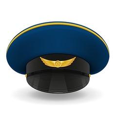 professional uniform cap 03 vector image vector image