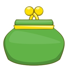 Purse icon cartoon style vector image