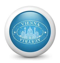 Vienna Glossy Icon vector image vector image