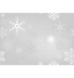 Christmas Paper With Snowflakes vector image vector image