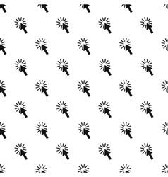 Cursor arrow pattern simple style vector
