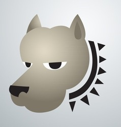 Dog logo vector