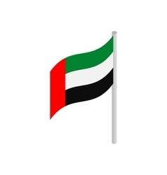 Flag of United Arab Emirates icon vector image vector image