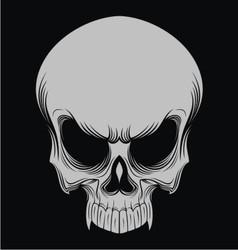 Skulls head vector