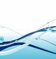 water theme vector image