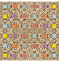 Aboriginal abstract pattern vector