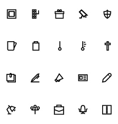 Apple watch icons 14 vector