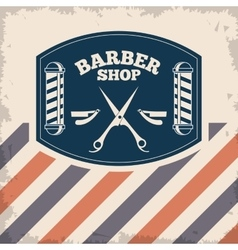 Barber shop design hair salon Stylist icon vector image vector image