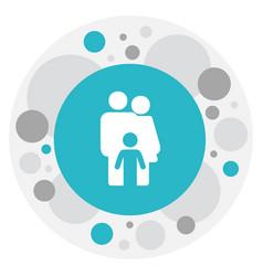 of relatives symbol on family vector image vector image