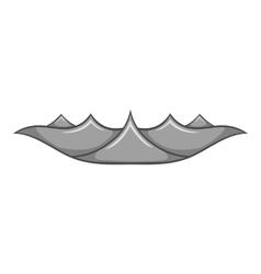Ripple wave icon cartoon style vector