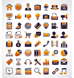 Simple universal web icons vector image vector image