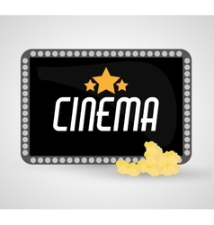 Board cinema and movie design vector