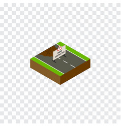 Isolated under construction isometric repairs vector