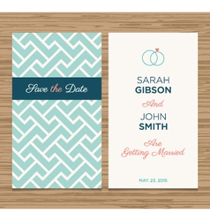 Wedding card pattern green 02 vector