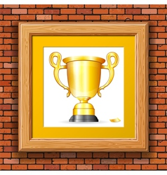 Gold prize vector