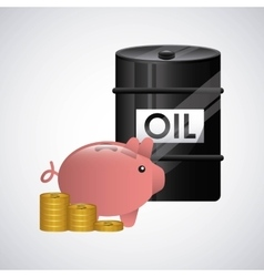 World oil prices design vector