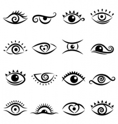eye design vector image vector image