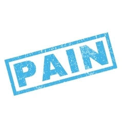 Pain rubber stamp vector