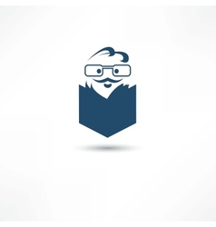 reader icon vector image vector image