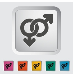 Gay sign vector