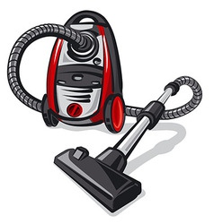 vacuum cleaner vector image vector image