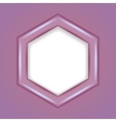 3d hexagonal frame vector