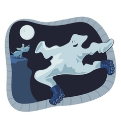 Ghost Cartoon vector image