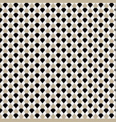 Brown geometric seamless pattern background vector