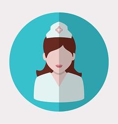 nurse woman vector image